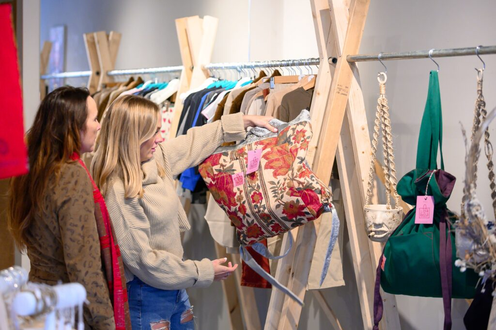 Pop-up shop for small businesses